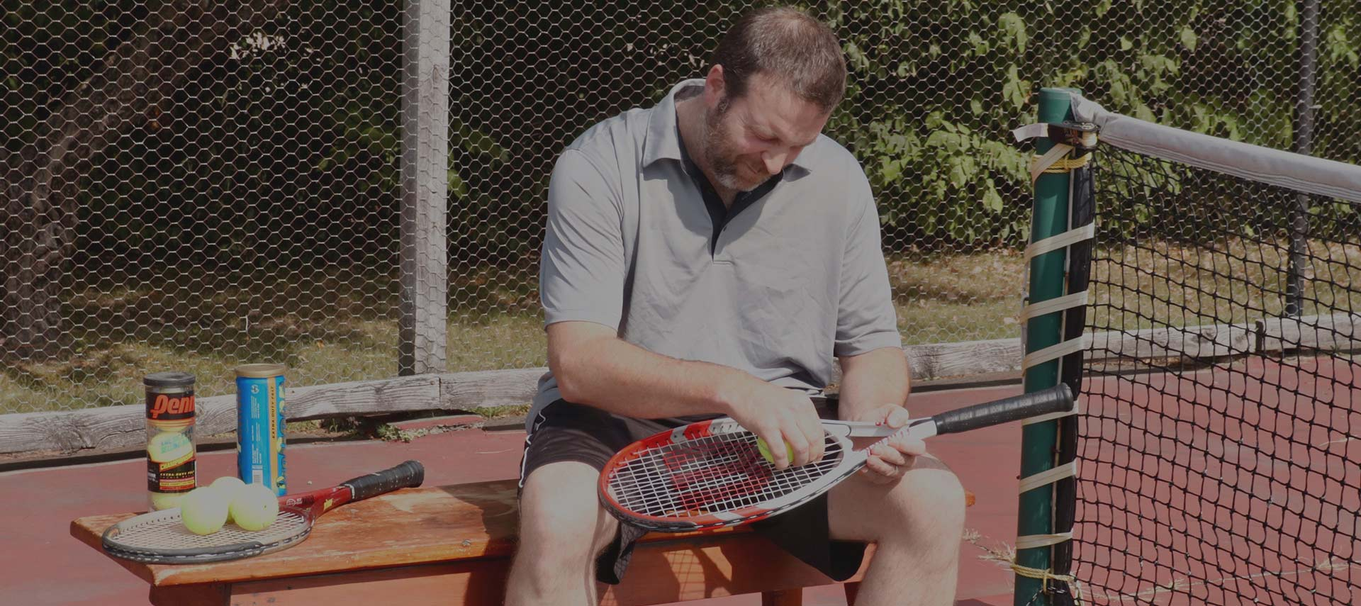 Boomer Tennis Robot - Play real tennis on your own court